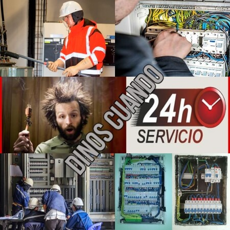Electricistas toledo ofrece servicio 24 horas